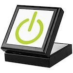 Power Symbol Keepsake Box
