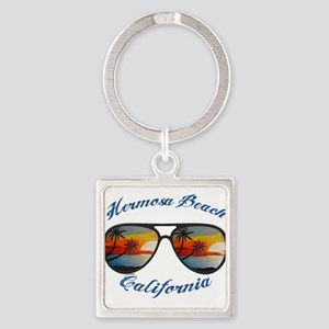 California - Hermosa Beach Keychains