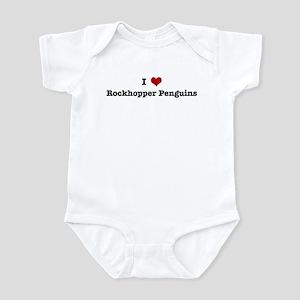 I love Rockhopper Penguins Infant Bodysuit