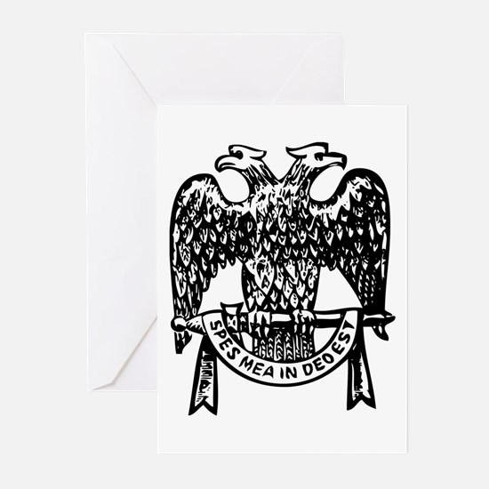 Double Headed Eagle Greeting Cards (Pk of 10)