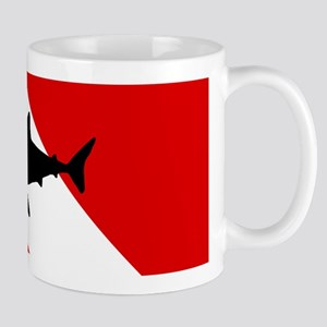 Diving Flag: Shark Mug