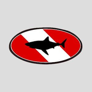 Diving Flag: Shark Patch