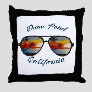 California - Dana Point Throw Pillow