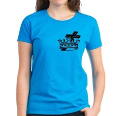 Cross and Crown Women's Dark T-Shirt