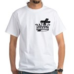Cross and Crown White T-Shirt