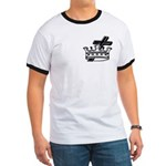Cross and Crown Ringer T