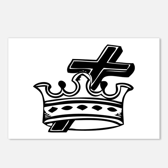 Cross and Crown Postcards (Package of 8)