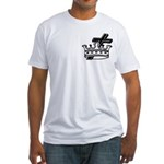 Cross and Crown Fitted T-Shirt