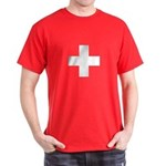 Swiss Cross-1 Dark T-Shirt