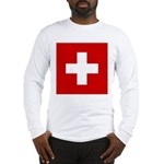 Swiss Cross-1 Long Sleeve T-Shirt