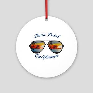 California - Dana Point Round Ornament