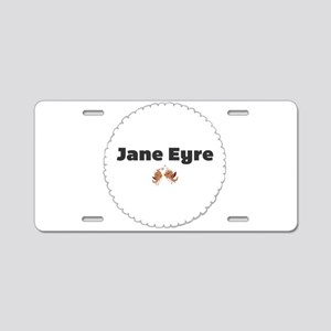 Jane Eyre Aluminum License Plate