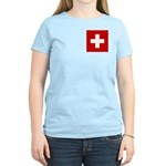 Swiss Cross-1 Women's Light T-Shirt