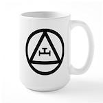 Triple Tau Large Mug