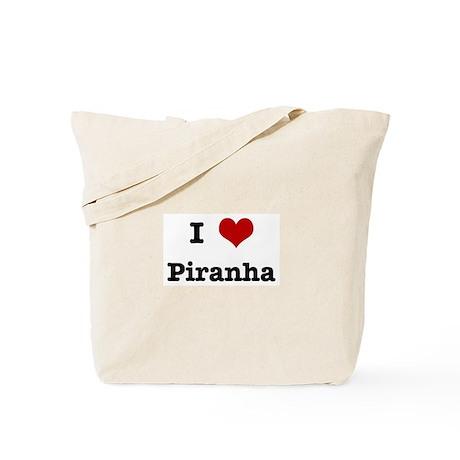 I love Piranha Tote Bag