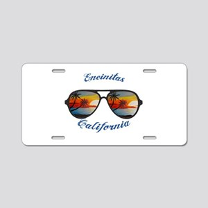 California - Encinitas Aluminum License Plate