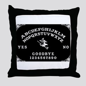 Witch Ouija Board Throw Pillow