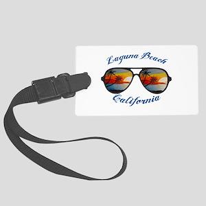 California - Laguna Beach Large Luggage Tag