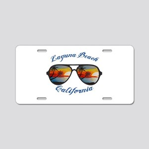 California - Laguna Beach Aluminum License Plate