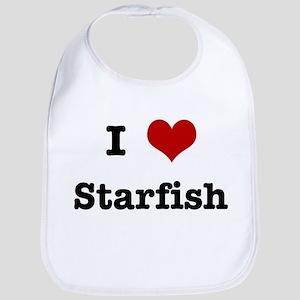 I love Starfish Bib