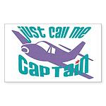 Original captain Rectangle Sticker 50 pk)
