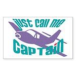 Original captain Rectangle Sticker 10 pk)