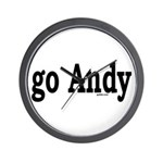 go Andy Wall Clock