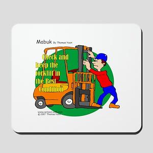 Forklift Safety Mousepad