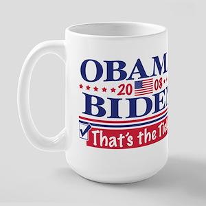 Obama Biden 2008 Large Mug