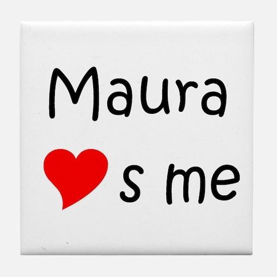 Cute Maura Tile Coaster
