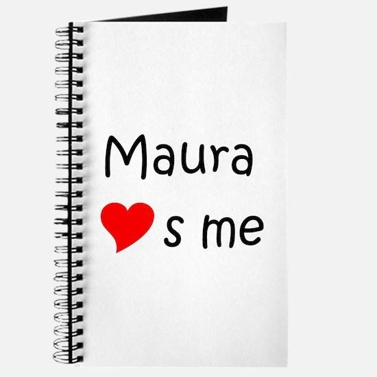 Cute Maura Journal