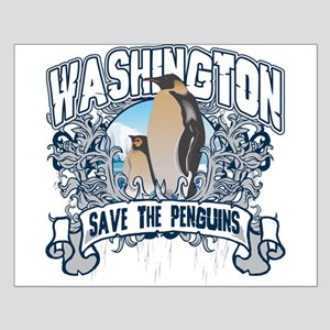 Save the Penguin Washington Small Poster