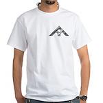 Masonic Euclid Past Master White T-Shirt