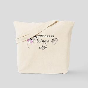 Happiness Is Gigi Tote Bag