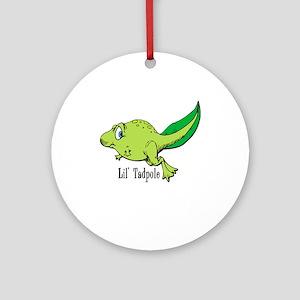 Lil Tadpole Keepsake (Round)
