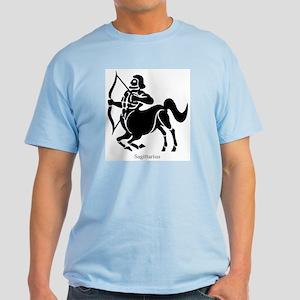 Sagittarius Zodiac Astrology Tattoo Light T-Shirt