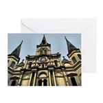 French Quarter Greeting Card
