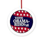 Obama-Biden 2008 Ornament (Round)