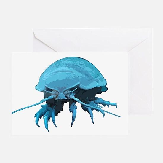 Giant Isopod Greeting Card