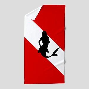 Diving Flag: Mermaid Beach Towel