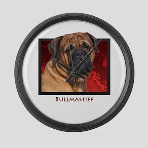 Bullmastiff Large Wall Clock