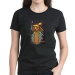 Halloween Scarecrow Women's Dark T-Shirt