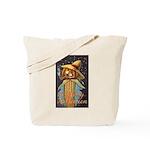 Halloween Scarecrow Tote Bag