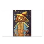 Halloween Scarecrow Postcards (Package of 8)