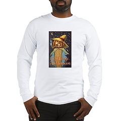 Halloween Scarecrow Long Sleeve T-Shirt