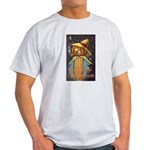 Halloween Scarecrow Light T-Shirt