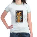 Halloween Scarecrow Jr. Ringer T-Shirt