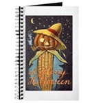 Halloween Scarecrow Journal