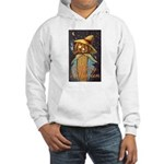 Halloween Scarecrow Hooded Sweatshirt