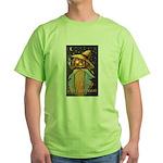 Halloween Scarecrow Green T-Shirt